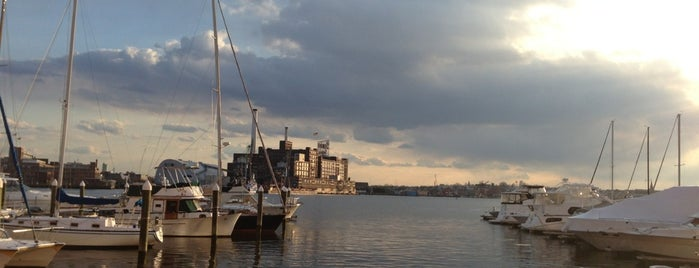 Baltimore's Waterfront Promenade is one of Photogenic Finds (Scene-it Spots).