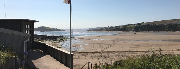 Bantham Beach is one of 36 hours in... Devon.