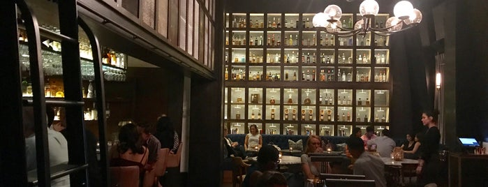 Library Of Distilled Spirits is one of The 15 Best American Restaurants in Greenwich Village, New York.