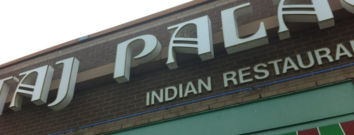Taj Palace Indian Restaurant & Bar is one of 20 favorite restaurants.