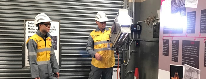 Russell Place Substation is one of Open House Melbourne.