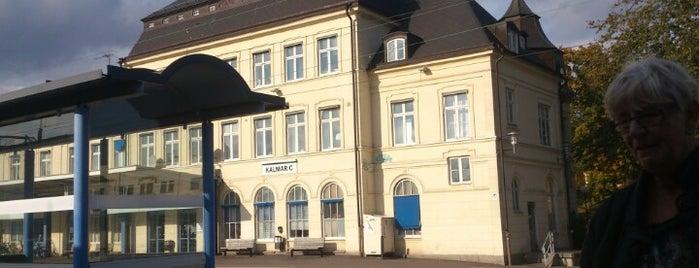 Kalmar Centralstation is one of Tågstationer - Sverige.