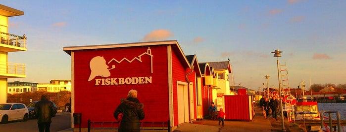 Fiskboden i Lomma is one of Skåne.