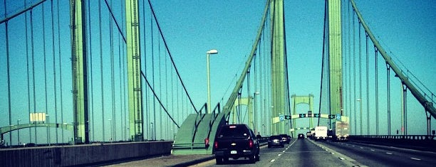 Delaware Memorial Bridge is one of Been there / &0r Go there.