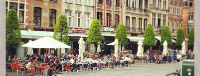 Oude Markt is one of My favorite places in Leuven, Belgium  #4sqCities.