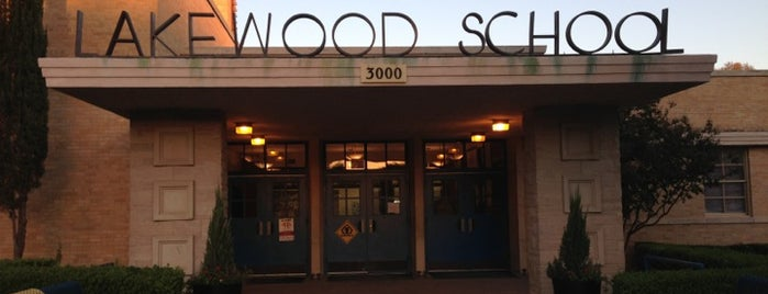 Lakewood Elementary School is one of Lakewood Neighborhood.