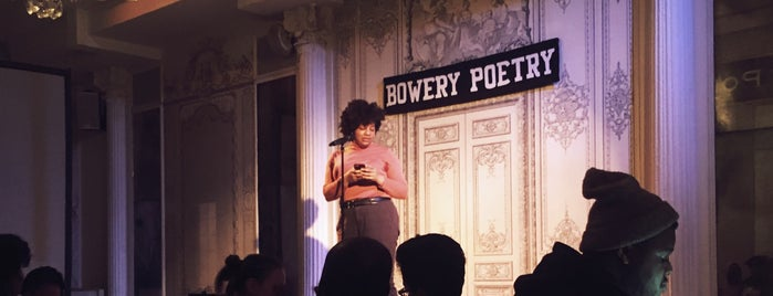 Bowery Poetry is one of The 13 Best Performing Arts Venues in the East Village, New York.