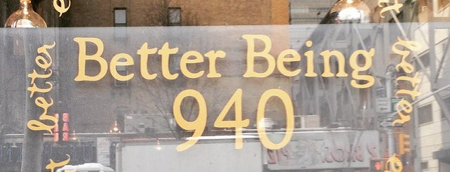 Better Being 940 is one of Manhattan To-Do's (Above 34th Street).
