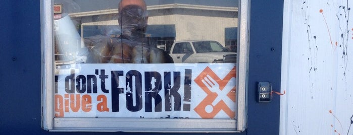 I Don't Give A Fork is one of N. Delaware.