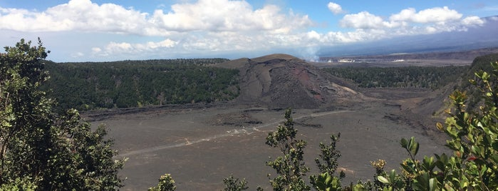 Kīlauea Iki Crater Overlook is one of The Best of The Big Island.