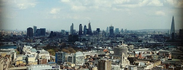 Paramount is one of The Best London Bars With A View.