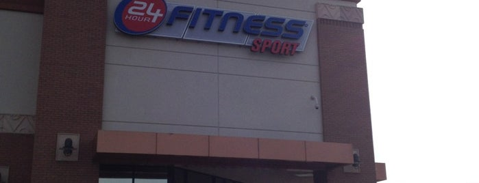 24 Hour Fitness is one of Tina.
