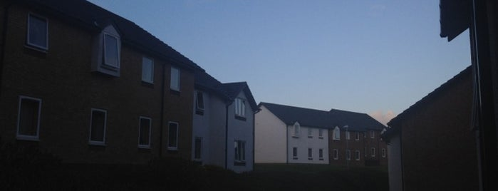 Pentre Jane Morgan is one of Penglais Campus.