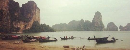 Tonsai Beach is one of Krabi.