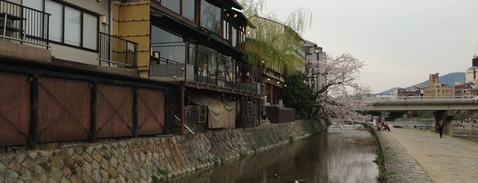 Kamo River is one of 旅.