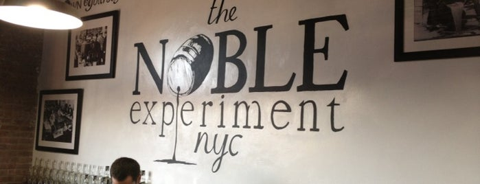 The Noble Experiment is one of Alcohol: Cocktails, Whisky, Beer.