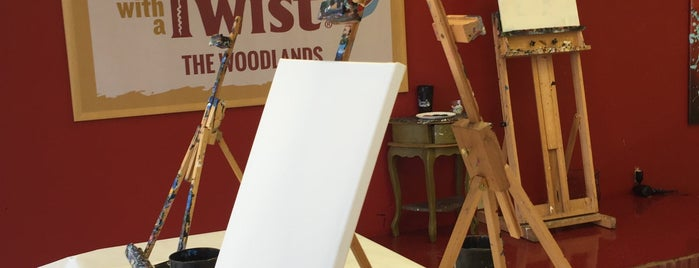 Places to go for Painting with a twist conroe