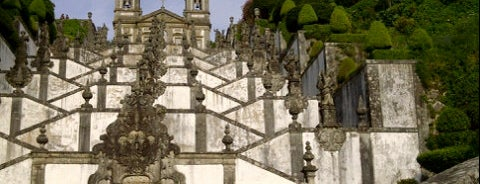 Miradouro do Bom Jesus is one of braga.