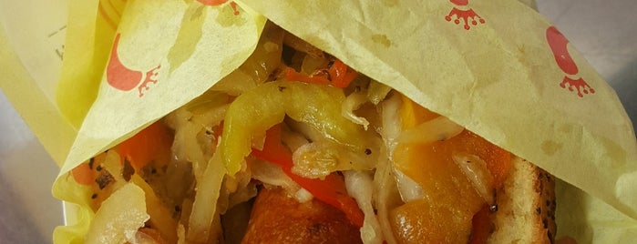 Jody Maroni's Sausage Kingdom is one of ThinDish Restaurants.