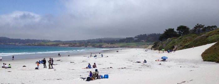 Carmel Beach City Park is one of USA Trip 2013 - The West.