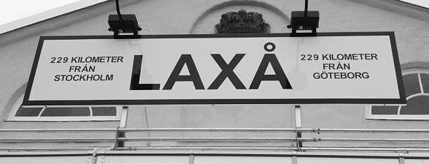Laxå Station is one of Tågstationer - Sverige.