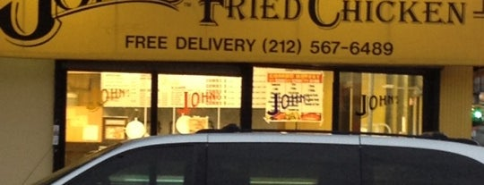 John's Fried Chicken is one of Best NYC Fried Chicken.