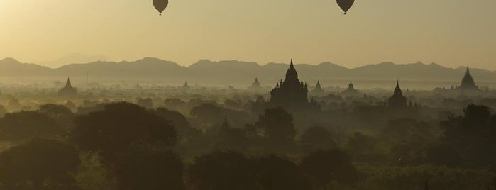 Bagan Archaeological Zone is one of Aweseome places you must see before you die.