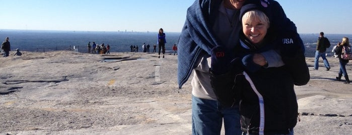 Stone Mountain Park Walking Trails is one of Places to try: fun.