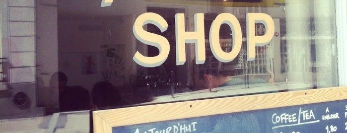 Tuck Shop is one of Best Coffee Shops Paris.