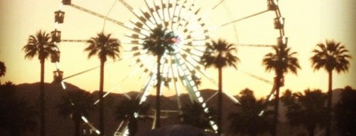 Coachella Main Stage VIP is one of Coachella Venues.