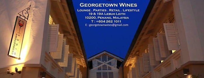 Georgetown Wines is one of Best Wine Drinking Places in Penang.