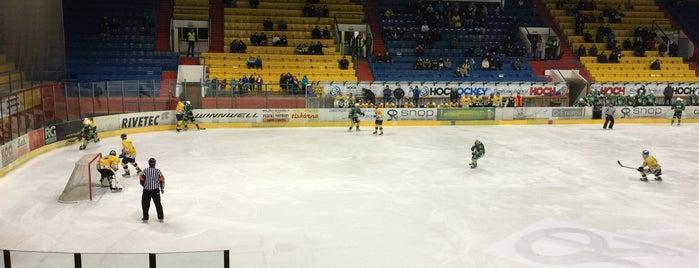 Zimní stadion Písek is one of Písek.