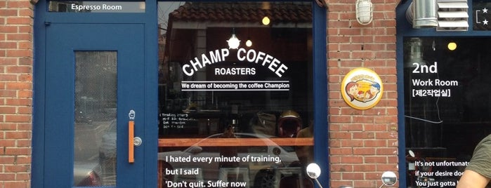 Champ Coffee is one of Coffee.