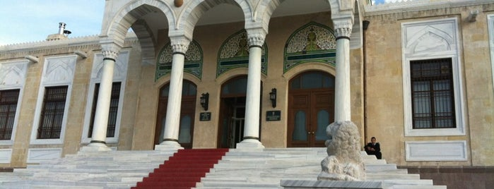 Ethnography Museum is one of ankara.