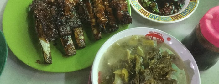 Sate Babi Johan is one of The 15 Best Places for Ribs in Jakarta.