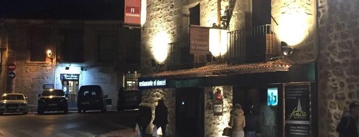 Hotel Restaurante El Doncel is one of Levante y Sur.