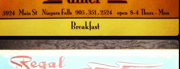 Regal Diner is one of Bucket.
