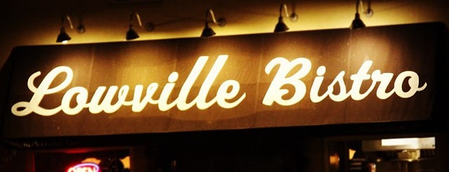 Lowville Bistro is one of Oakville/Burlington to-do, eat and visit.