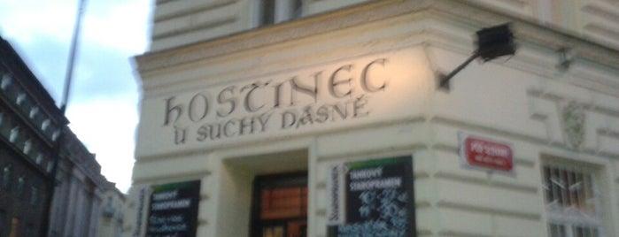 U Suchý dásně is one of Podniky se srandovním názvem.