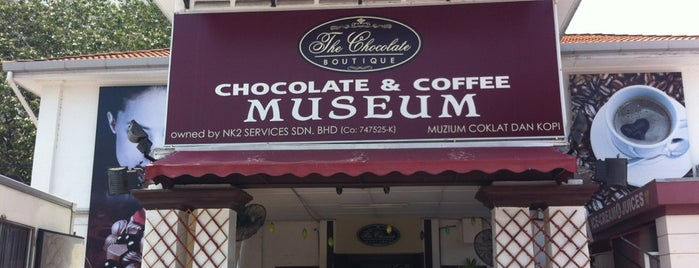 The Chocolate Boutique is one of Makan @ Utara #2.