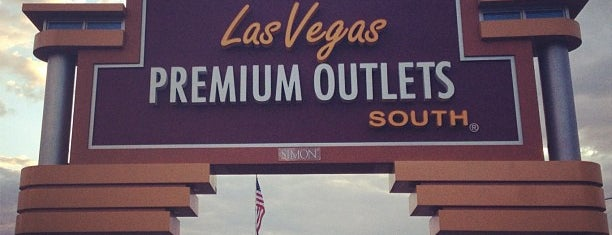 Las Vegas South Premium Outlets is one of Las Vegas to-do.