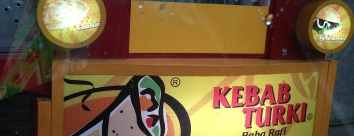 Kebab Turki Baba Rafi is one of Culinary @Cempaka Putih.