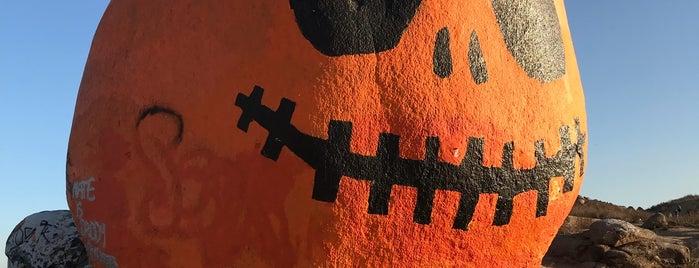 Pumpkin Rock is one of Nikki Kreuzer's Offbeat L.A..