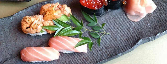 Umi Sushi is one of The 38 Essential Atlanta Restaurants, Winter 2017.