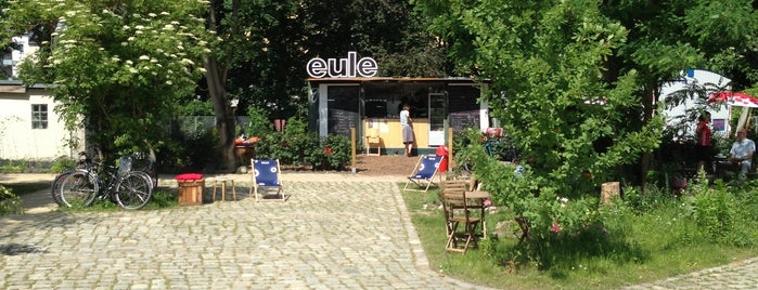 Café Eule im Gleisdreieck is one of The Insider's Guide to SoTie.
