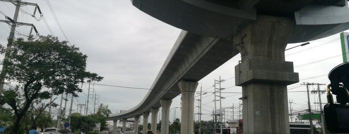 [Construction Site] BTS Sai Luat is one of BTS - Light Green Line (Sukhumvit Line).