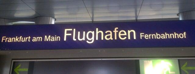 Frankfurt Airport Int'l Railway Station is one of Bahnhöfe Deutschland.