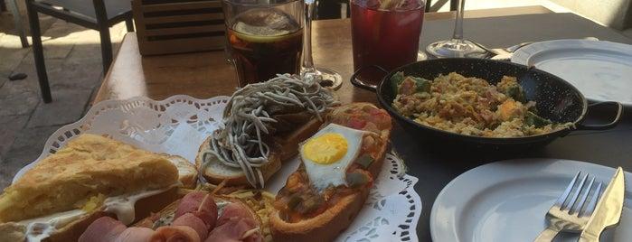 La Taberna de Los Austrias is one of Menú 1/2día.