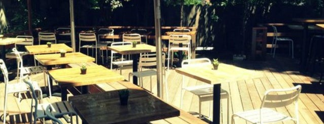 Sparrow Bar and Kitchen is one of The 16 Coolest Outdoor And Patio Bars In SF.