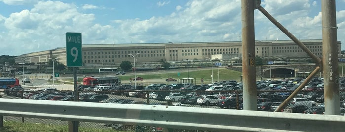 The Pentagon is one of the ususal.